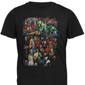 Marvel Comics Team Ups Group Shot T-Shirt